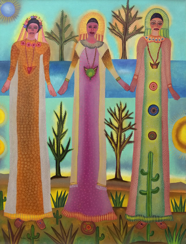 Las Madrinas / The Godmothers by Pedro Cruz Pacheco