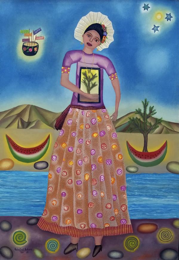 Niña del Mar / Girl of the Sea by Pedro Cruz Pacheco