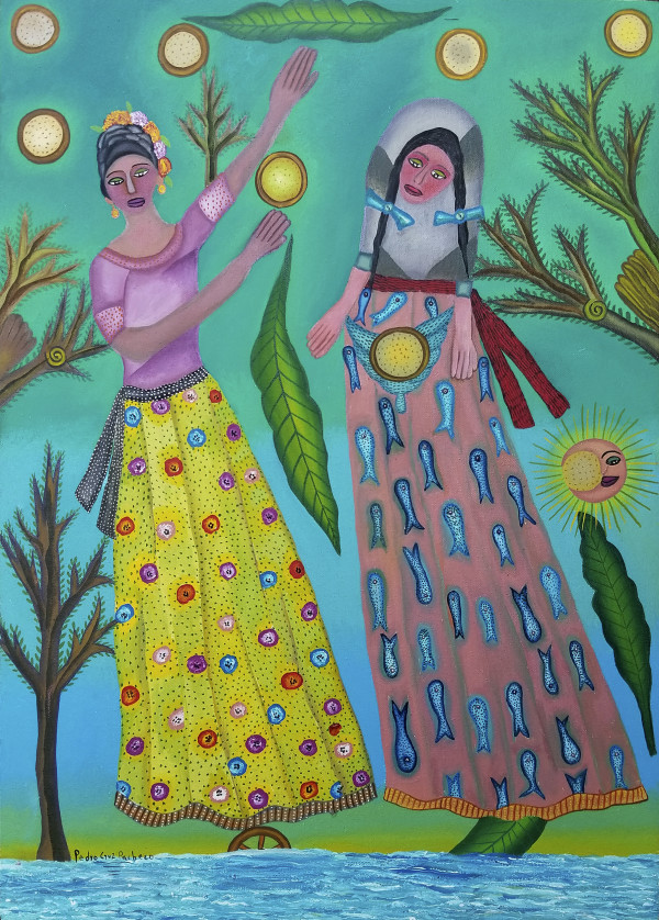 Las Madrinas de Totopo / The Godmothers of Totopo (flatbread) by Pedro Cruz Pacheco
