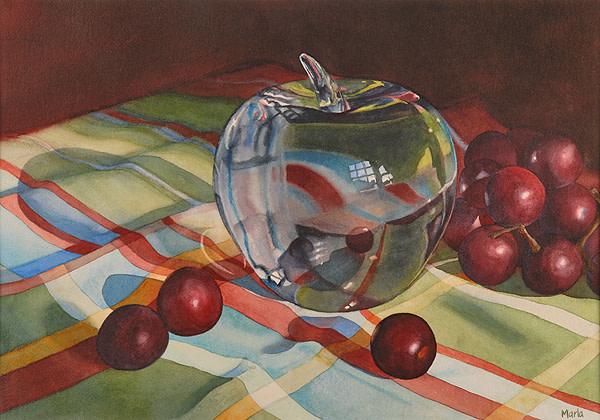 Glass Apple by Marla Greenfield