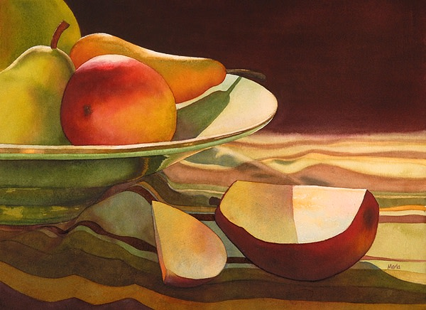 Pears by Marla Greenfield