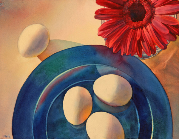 Eggsactly Four by Marla Greenfield