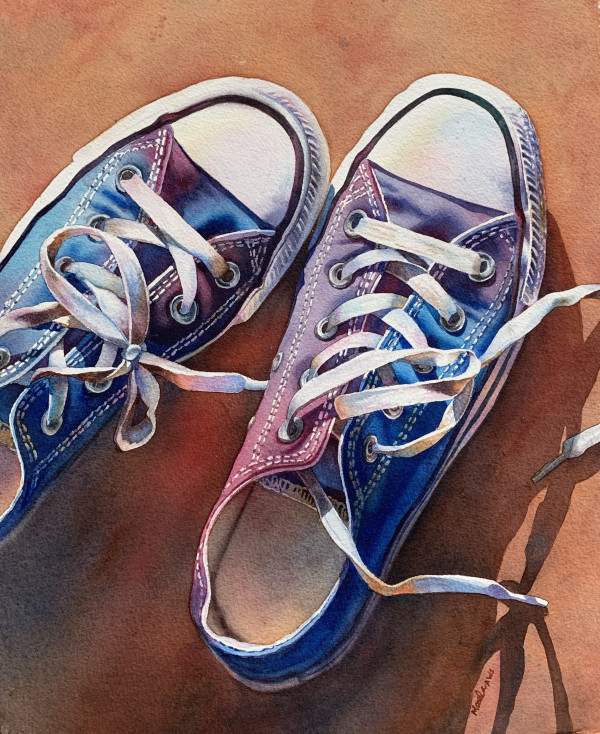 Converse-ation by Marla Greenfield