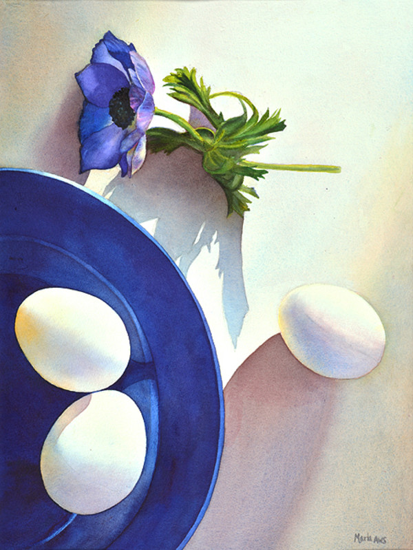 Flower and Eggs by Marla Greenfield