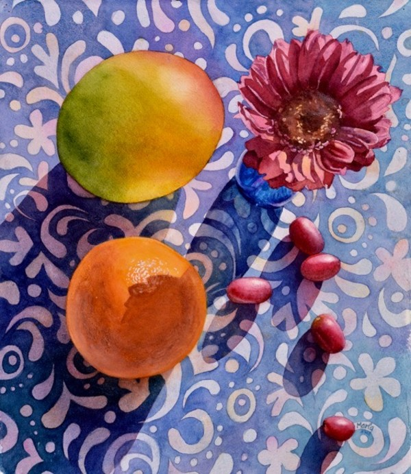 Fruit and Flowers 2 by Marla Greenfield