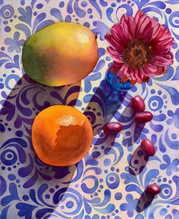 Fruit and Flowers by Marla Greenfield