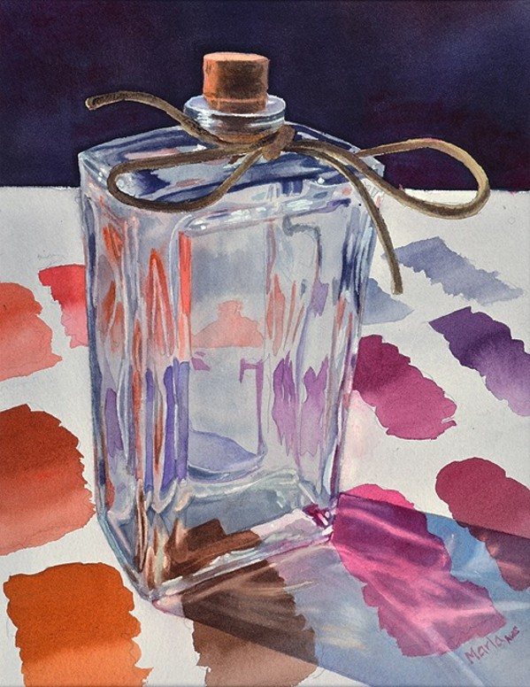 Watercolor Reflections by Marla Greenfield