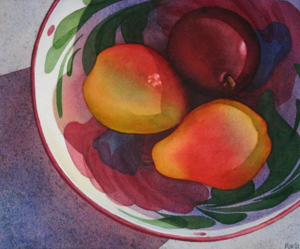 Pear Parley II by Marla Greenfield