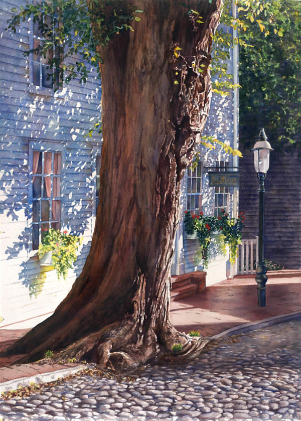 India Street Tree by Marla Greenfield