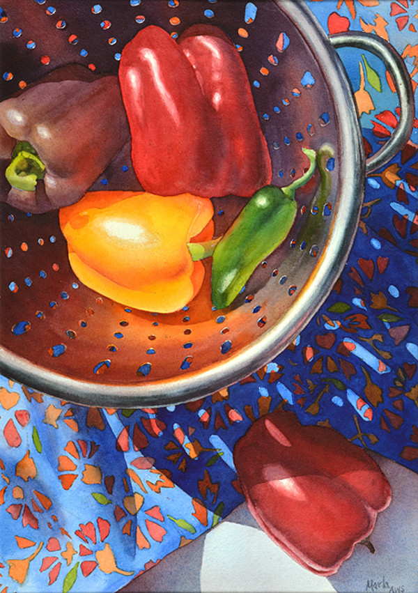 Rainbow Pepper by Marla Greenfield