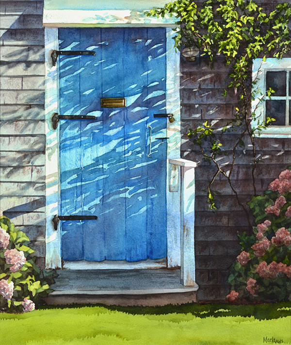 Sconset Doorway by Marla Greenfield