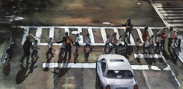 Crosswalk by Marla Greenfield