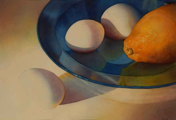 Bowl, Fruit, Eggsetera by Marla Greenfield