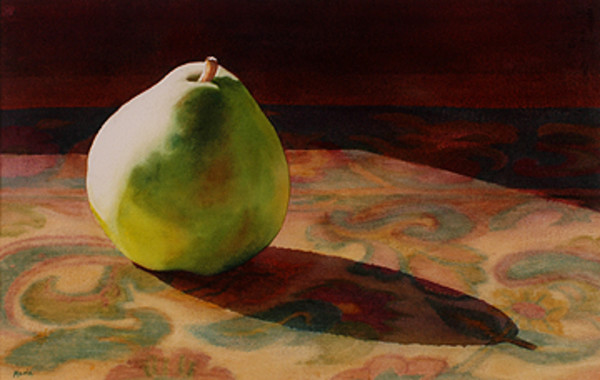 Lone Pear II by Marla Greenfield