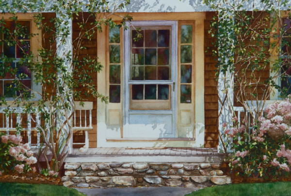 Sconset Porch by Marla Greenfield