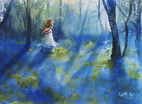 Blue Twilight by Kate Kos