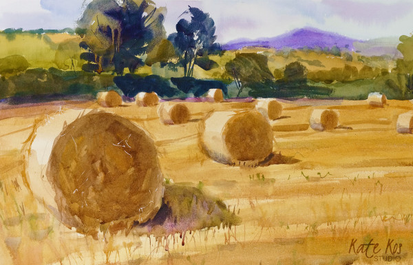 Bales of Gold by Kate Kos