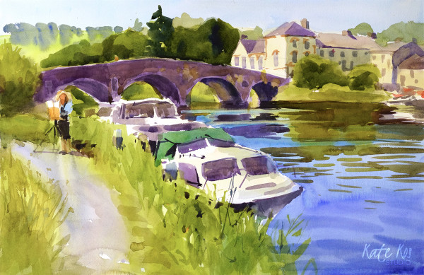 Graiguenamanagh Bridge by Kate Kos
