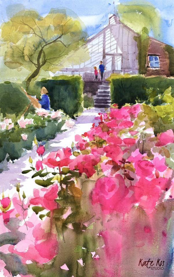 Farmleigh Roses III by Kate Kos