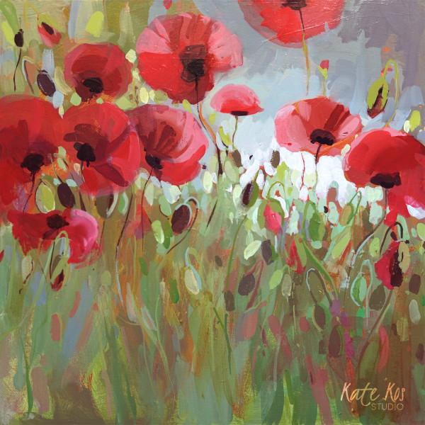 Wearing Red by Kate Kos