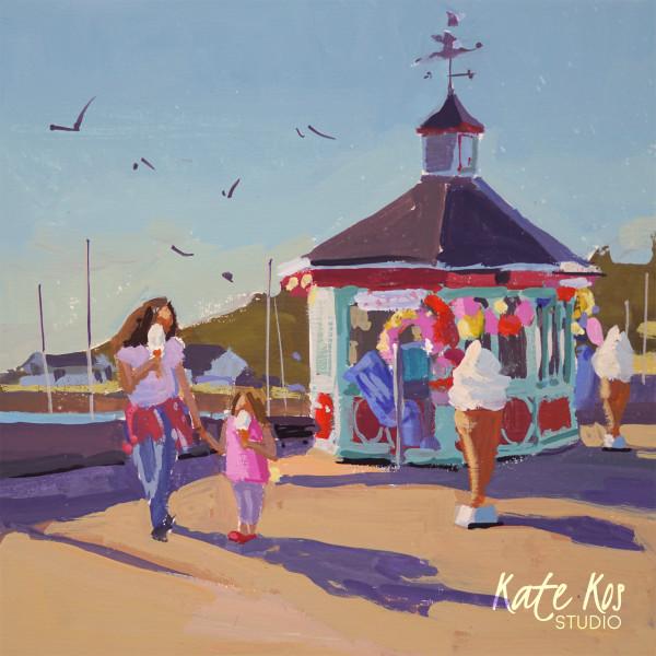 Ice Cream Shop by Kate Kos