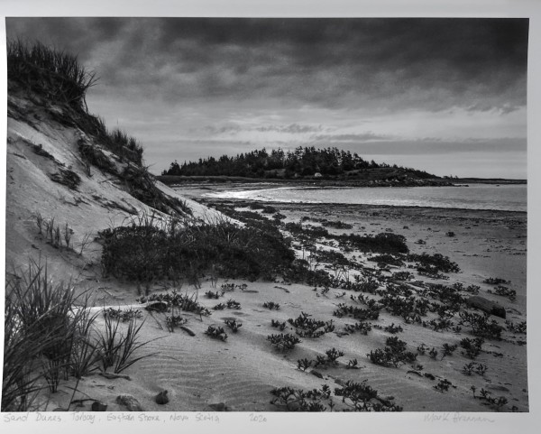 Sand Dunes Torbay, Eastern Shore, Nova Scotia by Mark Brennan