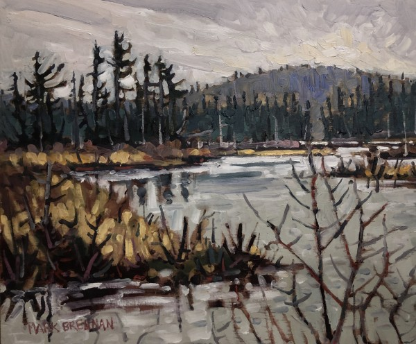 May At Grassy Lake by Mark Brennan