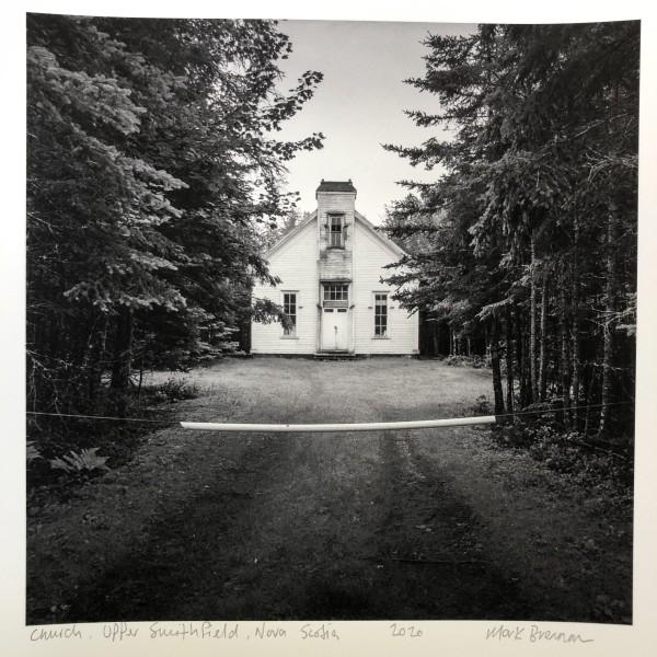 Church, Upper Smithfield, Nova Scotia by Mark Brennan