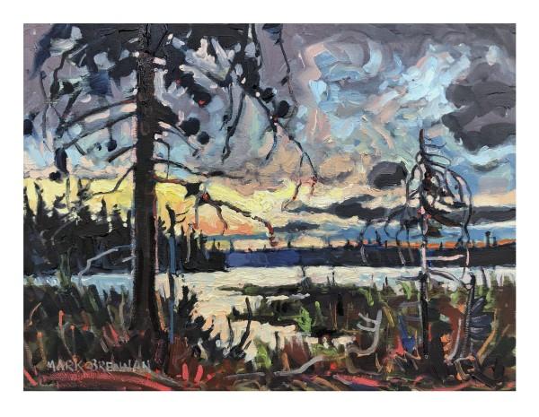 The North Sky, Battery Lake by Mark Brennan