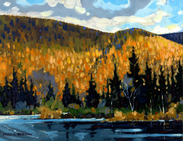 Bend In The Margaree by Mark Brennan