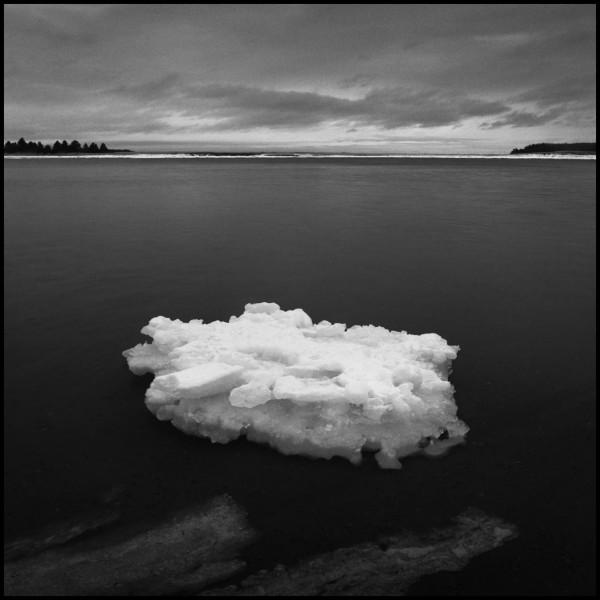 Ice, Northumberland Strait, Nova Scotia by Mark Brennan