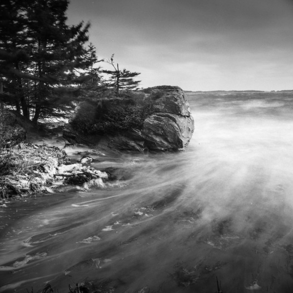 Hurricane, Taylor Head, Nova Scotia by Mark Brennan