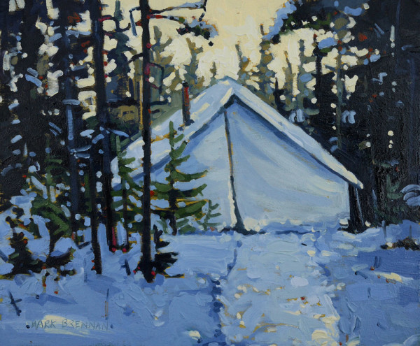 My Tent, Whitehill, Nova Scotia by Mark Brennan