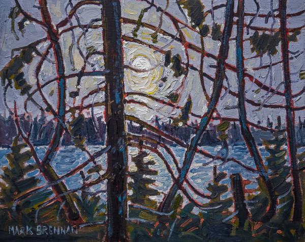 Russel Lake, Upper Stewiacke River Wilderness by Mark Brennan