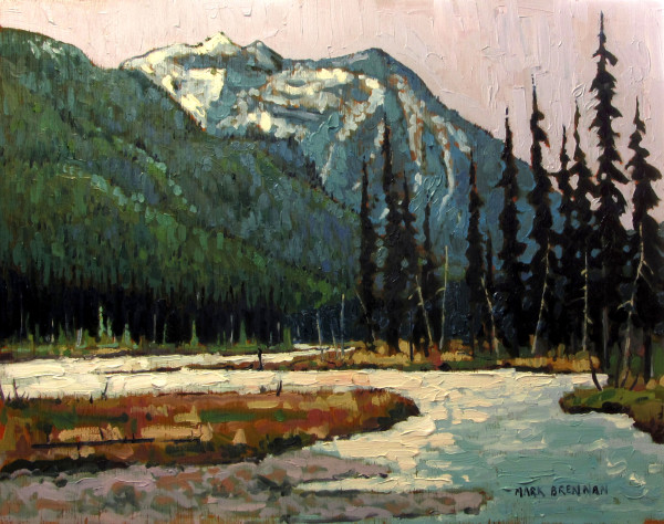 Spring, The Kootenay River by Mark Brennan