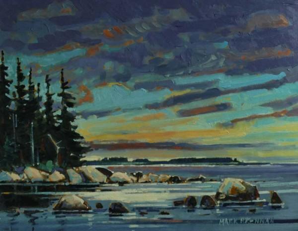 The Cove, Thomas Raddall Provincial Park, Nova Scotia by Mark Brennan