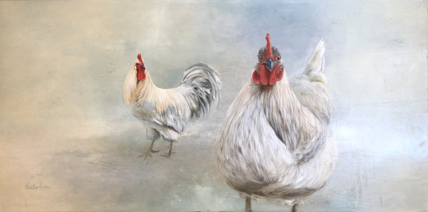 Roo & Hen by Kristine Andrea