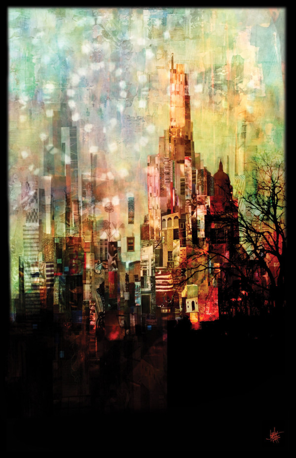 The City of Dreams by Lydia Burris