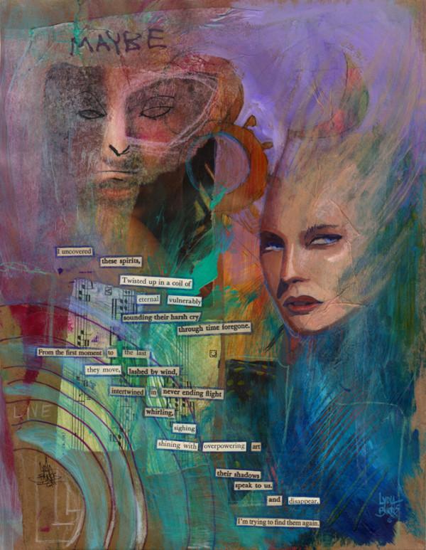 Their Shadows Speak to Us by Lydia Burris