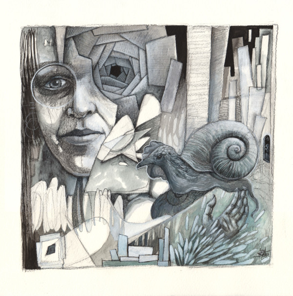 The Hen Snail by Lydia Burris