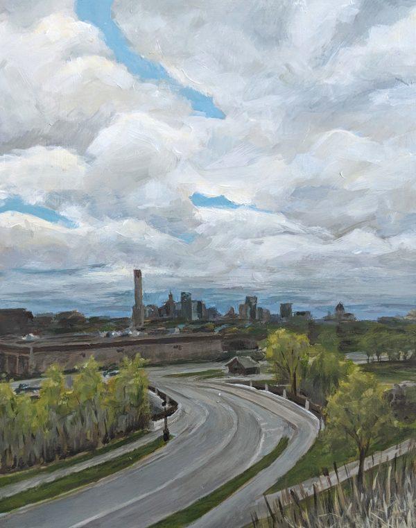 St Paul Skyline by Carrie Arnold
