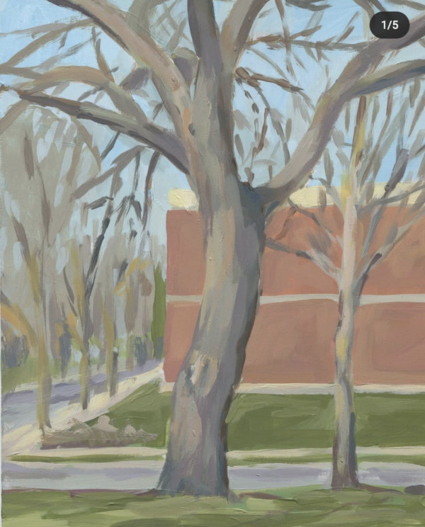Walnut In Spring by Carrie Arnold