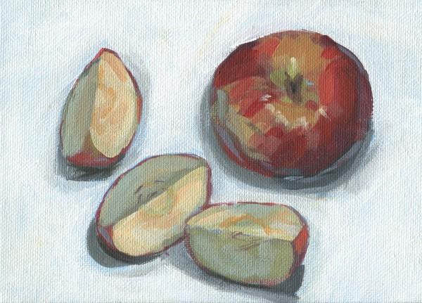 Sliced Apple by Carrie Arnold