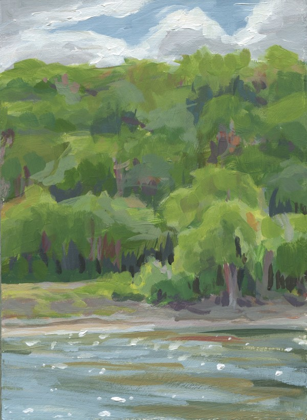 Mississippi Riverbank by Carrie Arnold