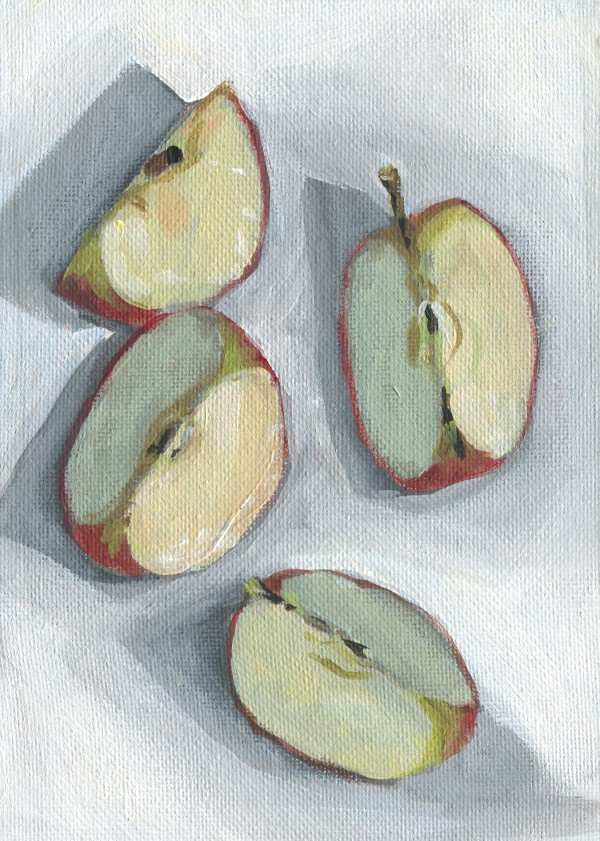 Apple Slices by Carrie Arnold