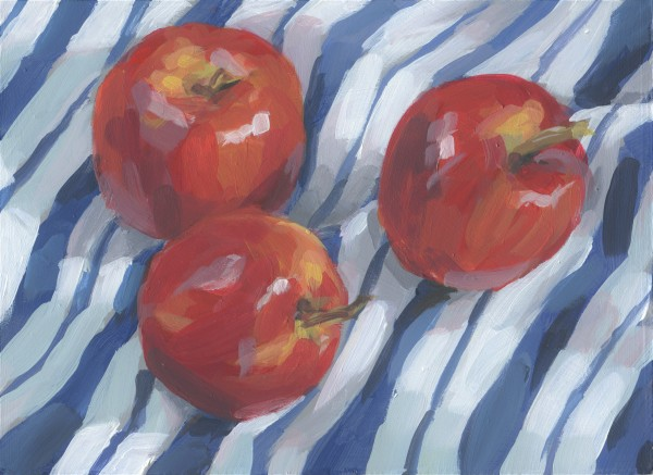 Red Apples by Carrie Arnold