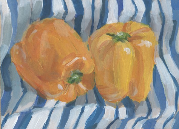 Two Peppers by Carrie Arnold