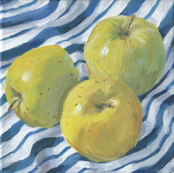 Granny Smith Apples by Carrie Arnold
