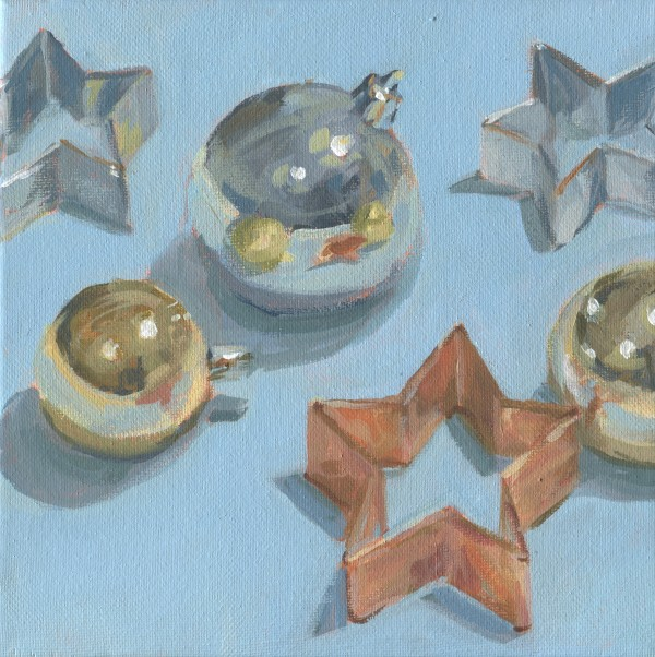 Ornaments and Star Cookie Cutter by Carrie Arnold