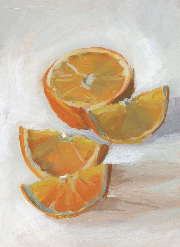 Orange Slices by Carrie Arnold